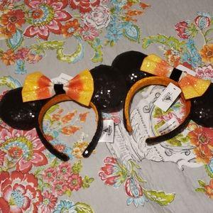 2 halloween candycorn disney mickey minnie ears